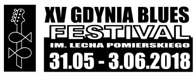 XV Gdynia Blues Festival 31.05-3.06.2018